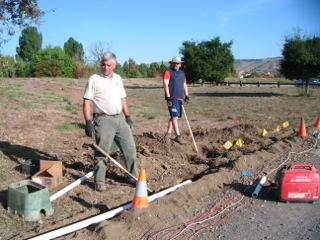 Quarry Lakes Irrigation Installation 3