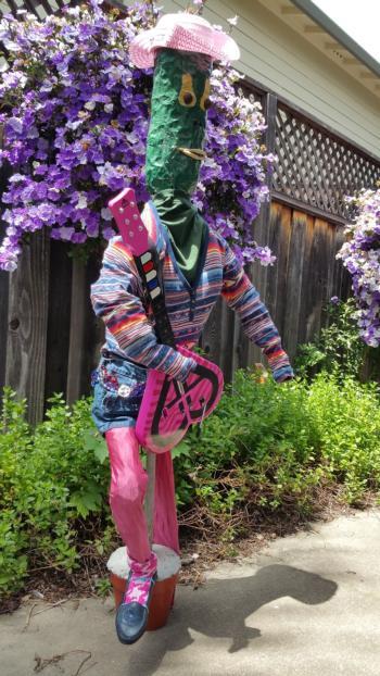 Scarecrow Zelda Zucchini